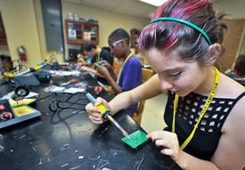 Initiatives aim to boost excitement for science, math fields!!!