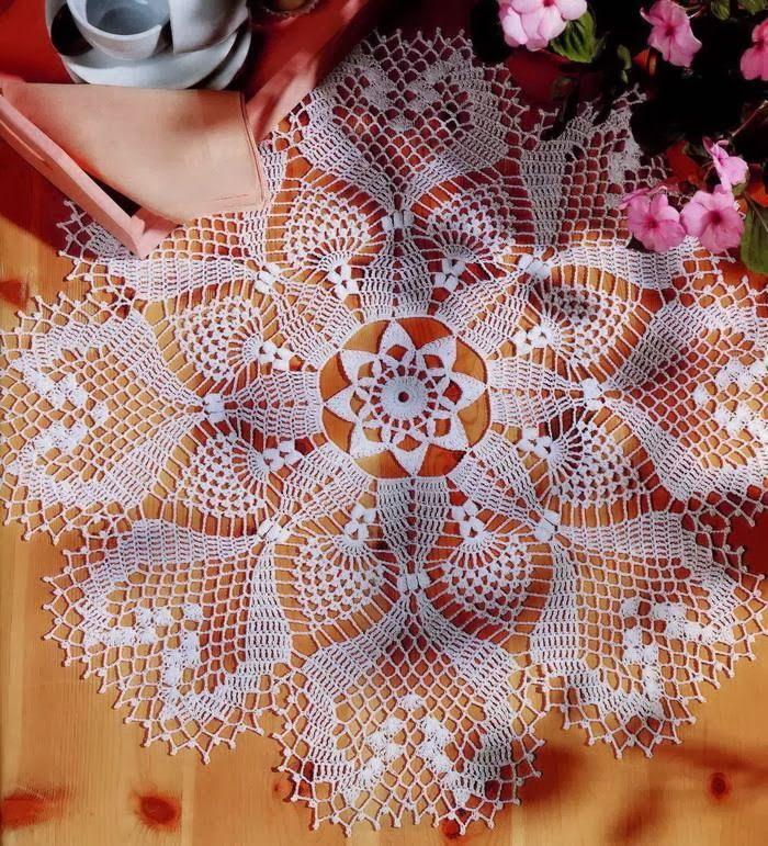 Crochet Art: Crochet Pattern of Gorgeous Doily | Knit and Crochet ...