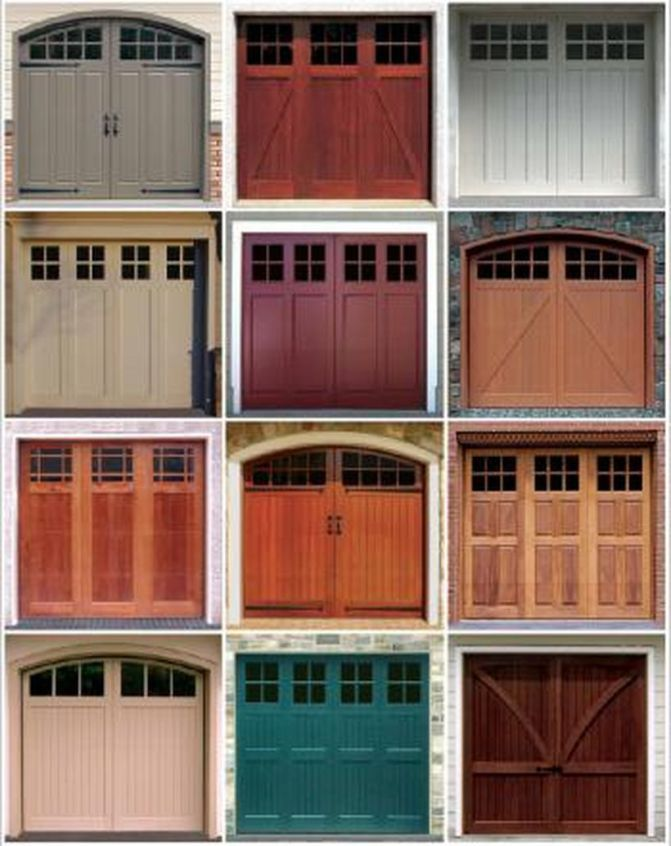 170 Awesome Home Garage Doors Design Ideas That You Must See