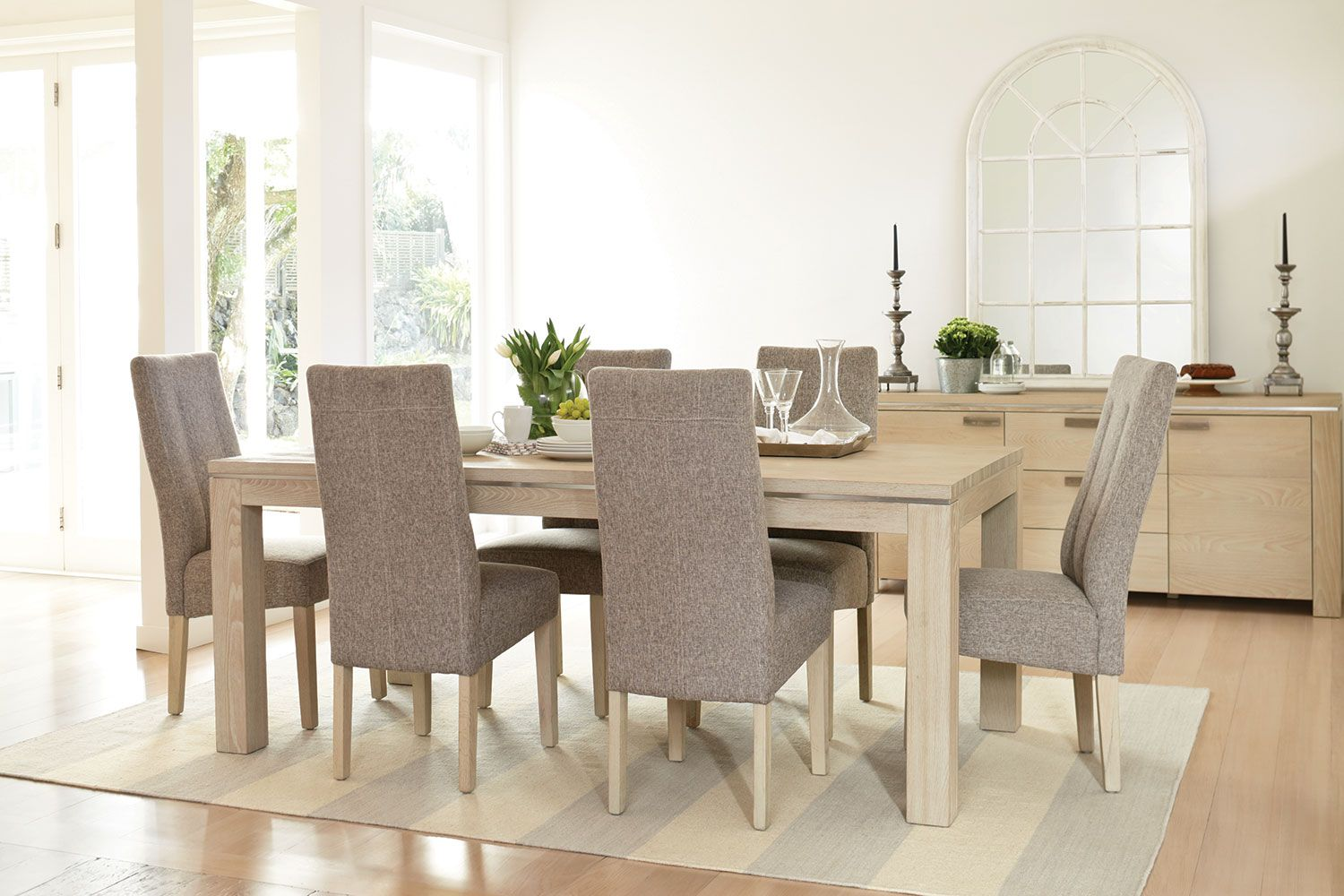 Edminton 7 Piece Dining Suite By Morgan Furniture Harvey Norman