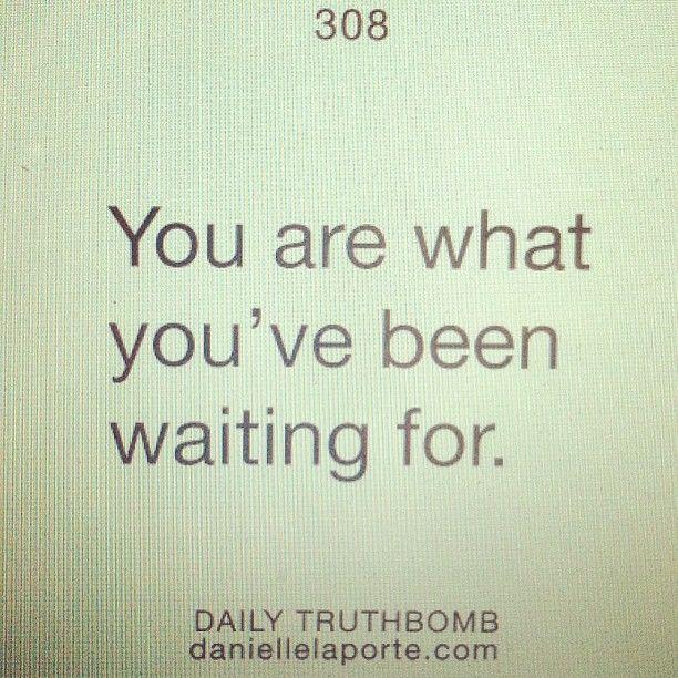 #truthbomb #daniellelaporte http://www.daniellelaporte.com/truthbomb/
