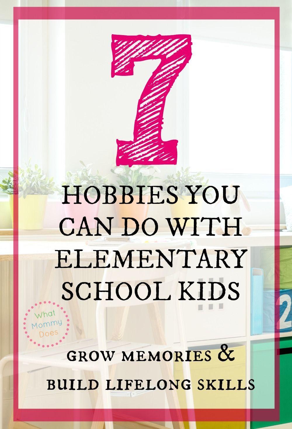 list of hobbies for kids