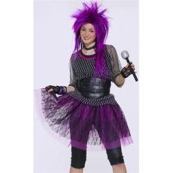 Tween teen 80s punk rock star girls halloween costume product tween teen 80s punk rock star girls halloween costume product product review solutioingenieria Image collections