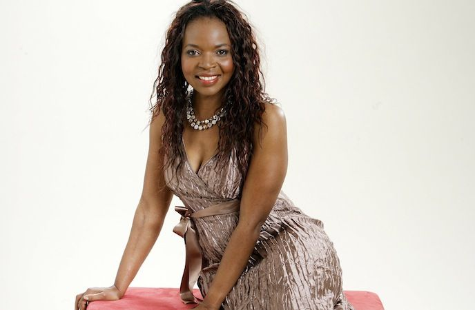 South African Actress Florence Masebe Photo By Gallo Imagesdrum