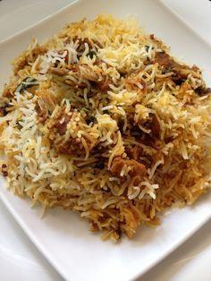 Mutton biryani recipe indian receta comida india curry y india mutton biryani recipe here in this post is a pakki yakhni style hyderabadi biryani made by forumfinder Image collections