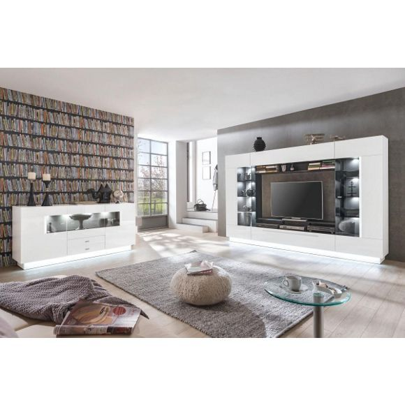 Wohnwand Von Xora Im Futuristischen Stil Ein Muss Fur