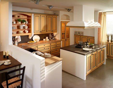 Landhausküche Mit Kochinsel   Landhausküchen   Pinterest   Kochinsel,  Landhausküchen Und Küche