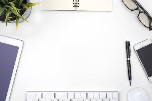 Download Frame With Office Equipment On White Desk For Free In 2020 Powerpoint Background Design Powerpoint Background Templates Background Powerpoint