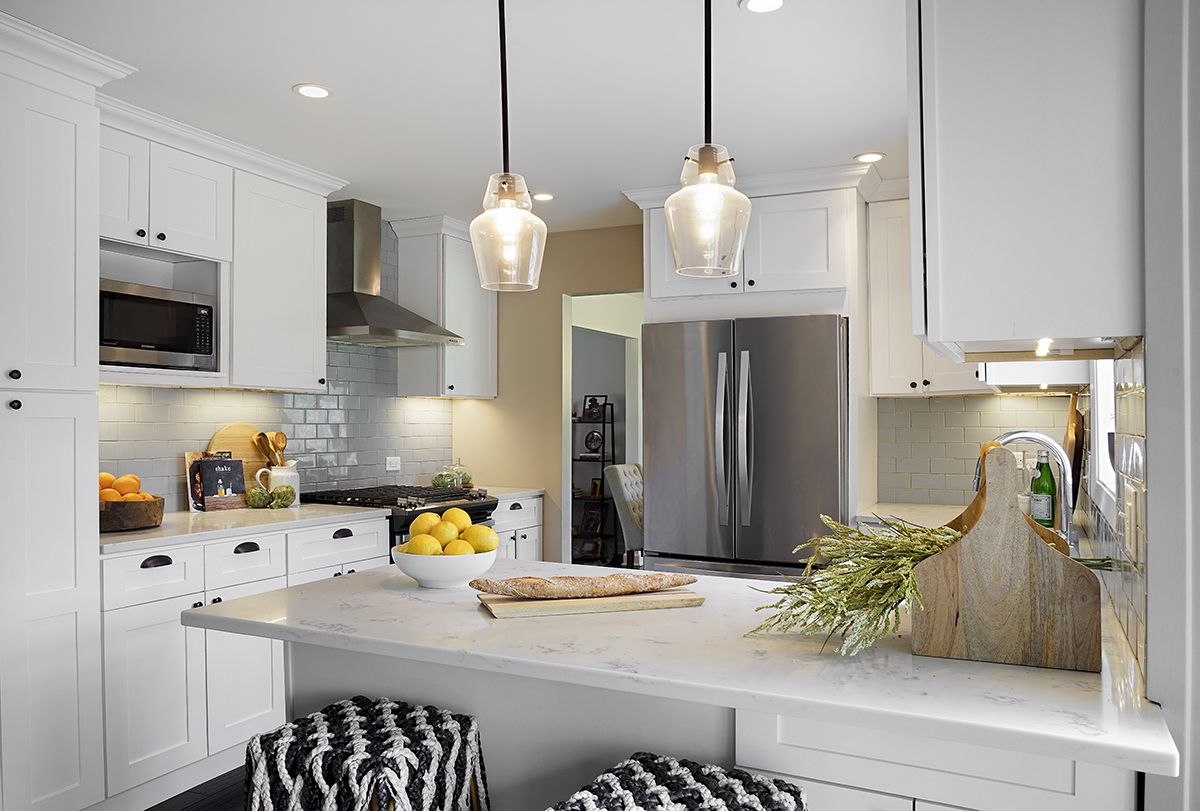 Functional kitchen with bright and open concept