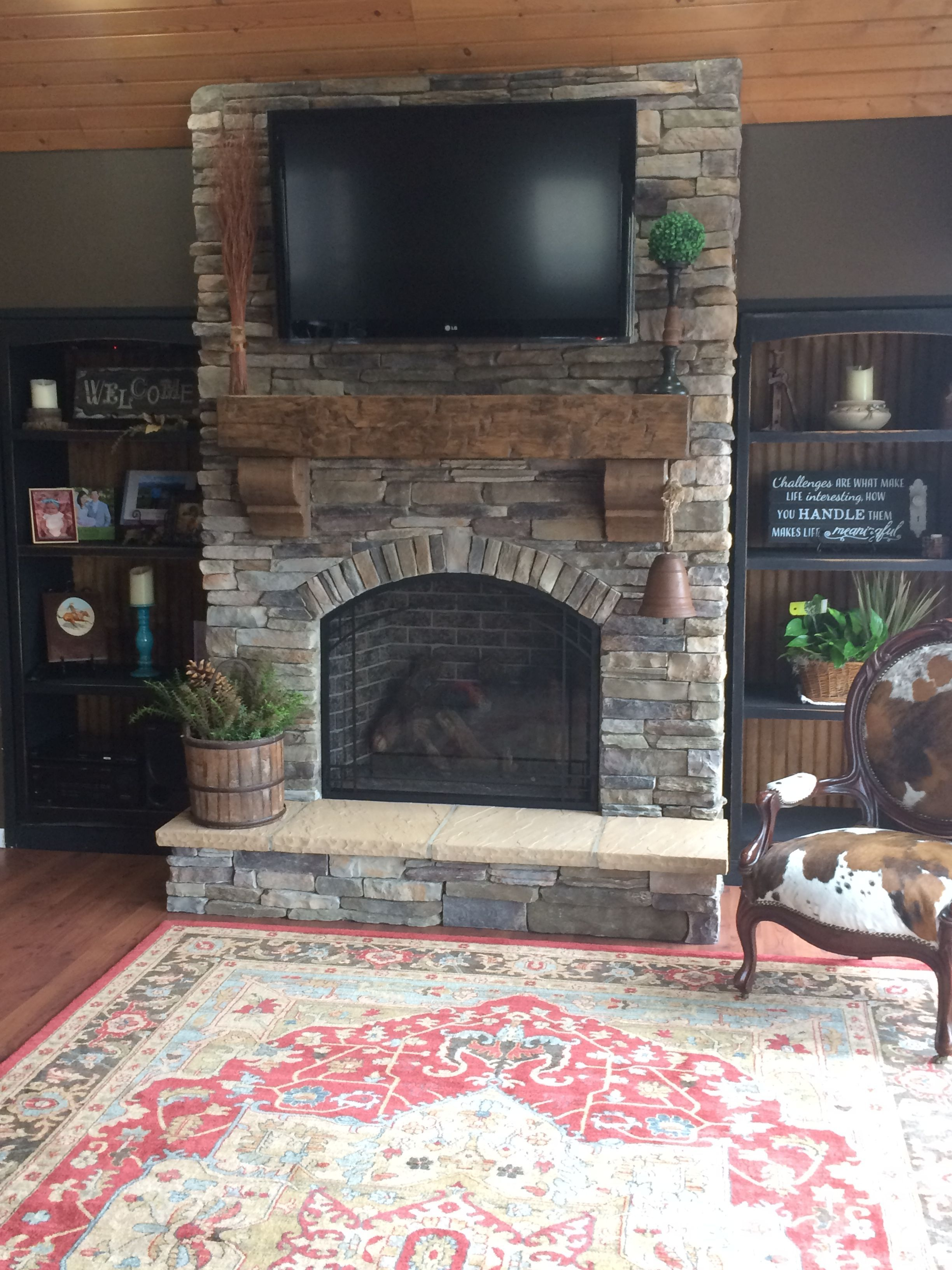 Prodigious cool tips fireplace and mantels wood black fireplace