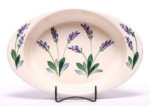 Lavender Large Ceramic Casserole by Emerson Creek Pottery