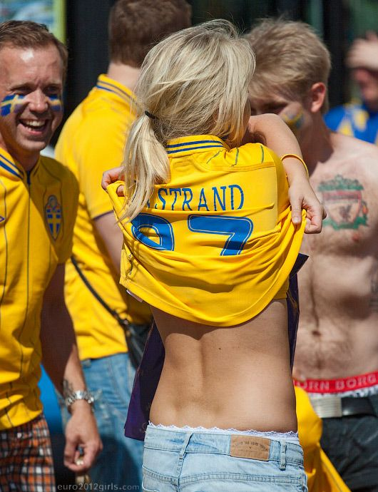 Swedish girls are back!  via http://euro2012girls.com/swedish-girls/