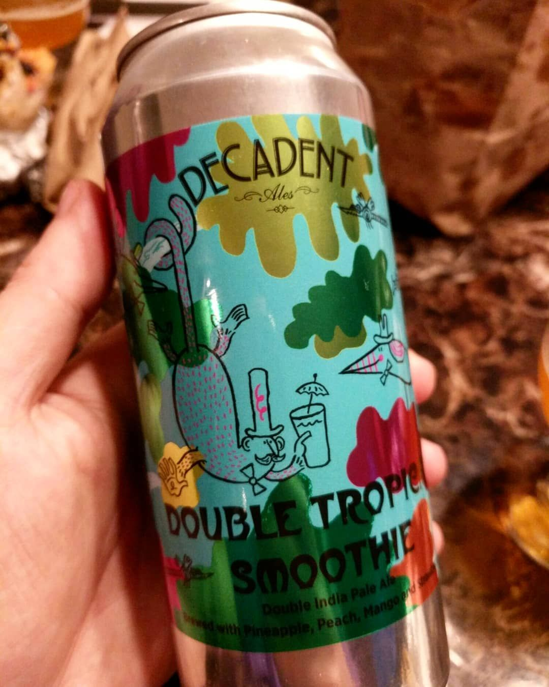 Double Tropical Smoothie by Decadent Ales