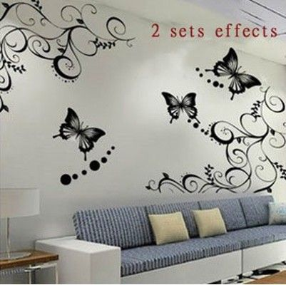 Wall Decor Stickers Teens | Teen Room Themes   Wall Stickers, Wall Decals,  Removable Part 48