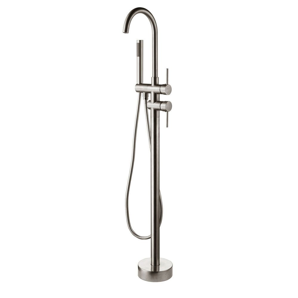 Pin on Floor Mounted Bath Filler Shower Mixer Tap