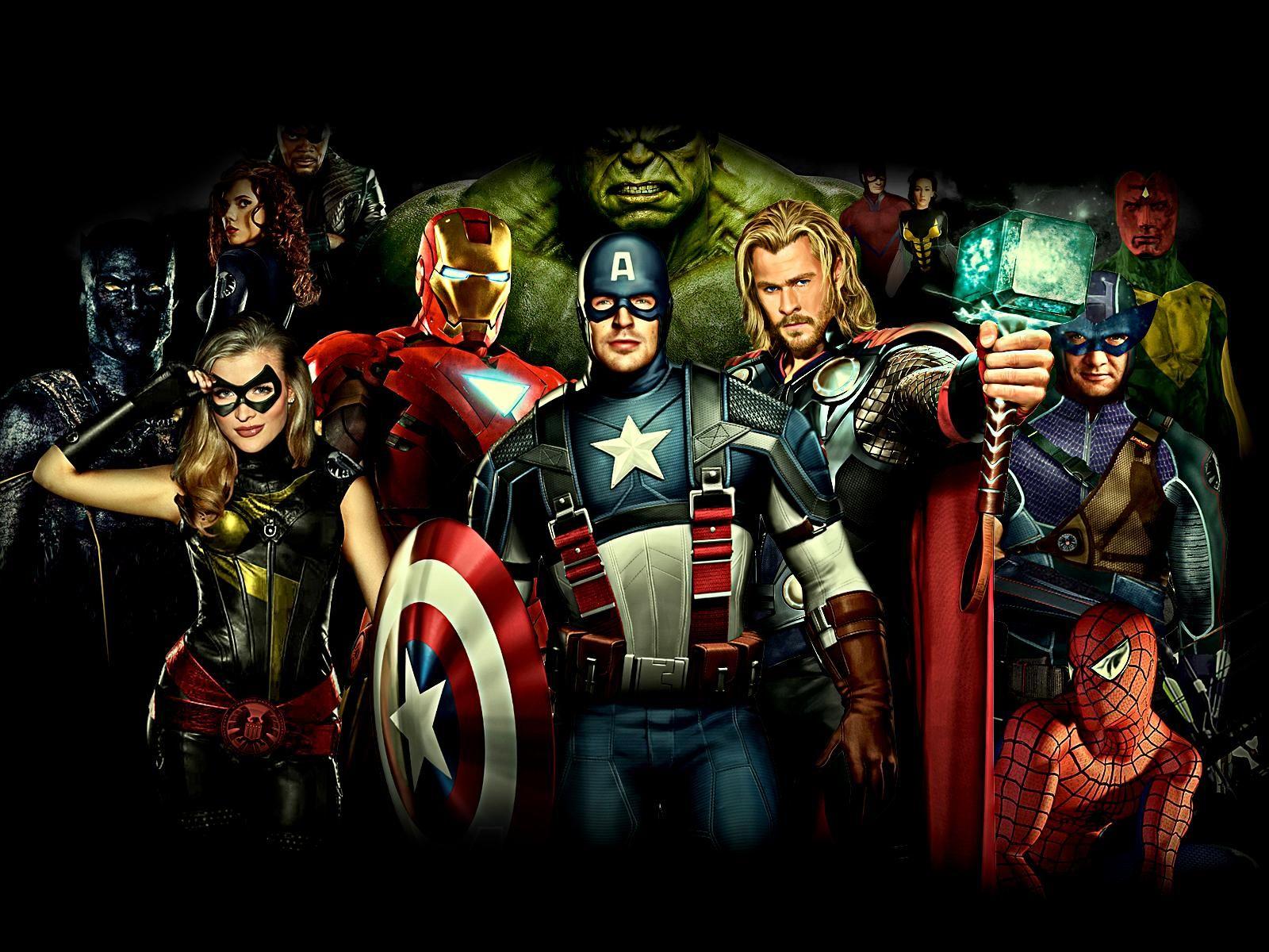 Avengers 3d wallpaper - Wallpaper avengers 3d ...