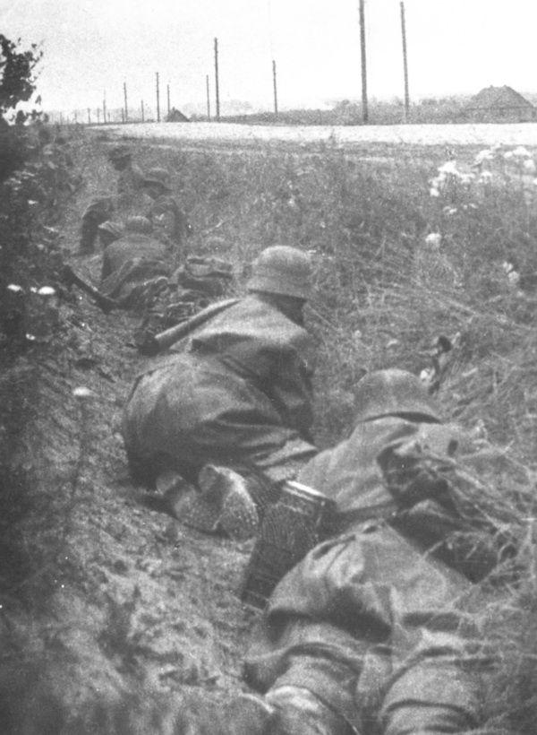eastern front - german grenadiers