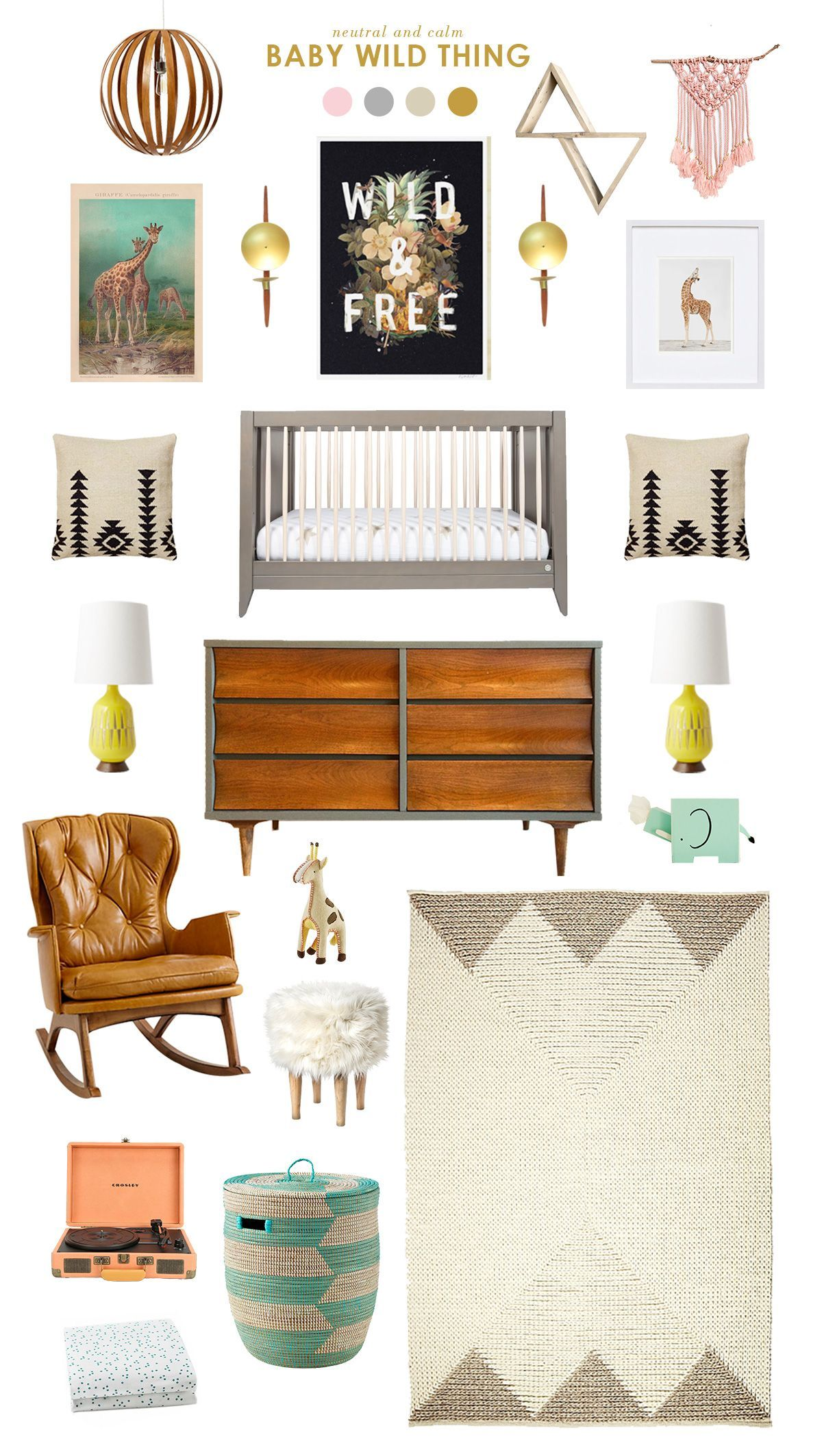 Get Inspired With This Baby Wild Thing Nursery, And Then