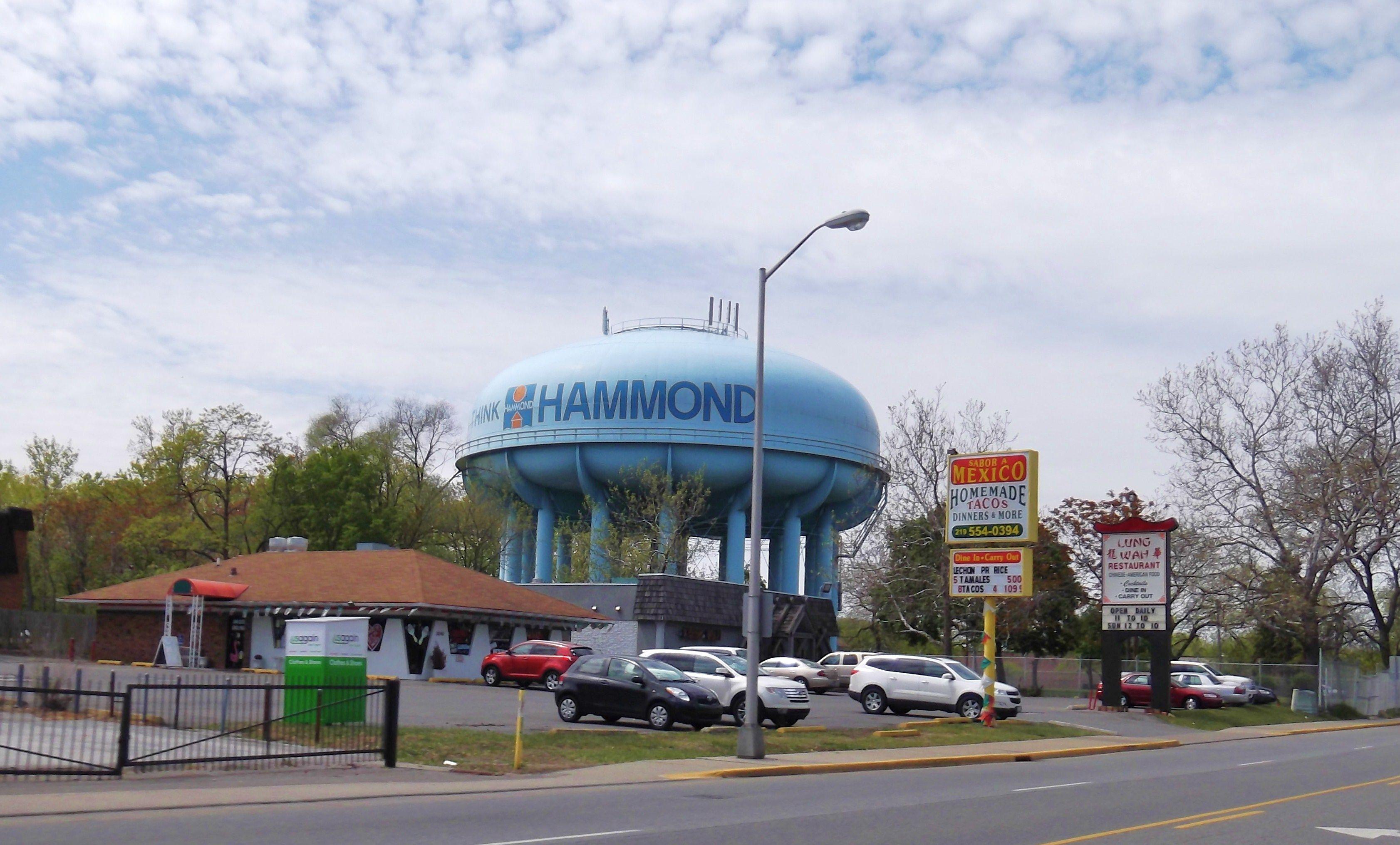 Hammond Water tower, Hammond, Indiana Hammond indiana
