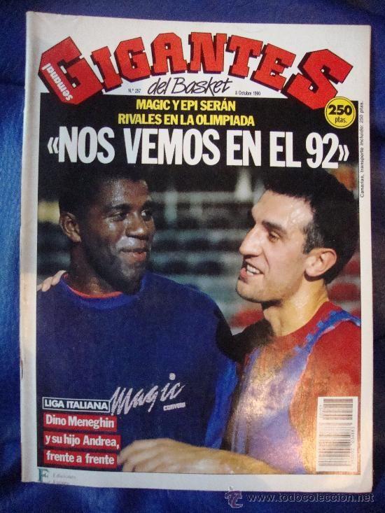 revista nba gigantes del basket nº 257 - 8 octu | 26611788 | FCB ...