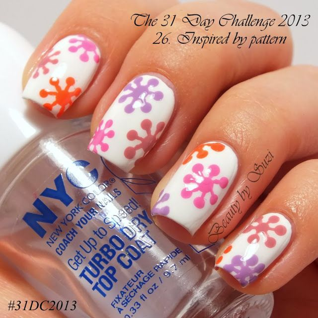The 31 Day Challenge: 26. Inspired by a pattern - Flower Pattern