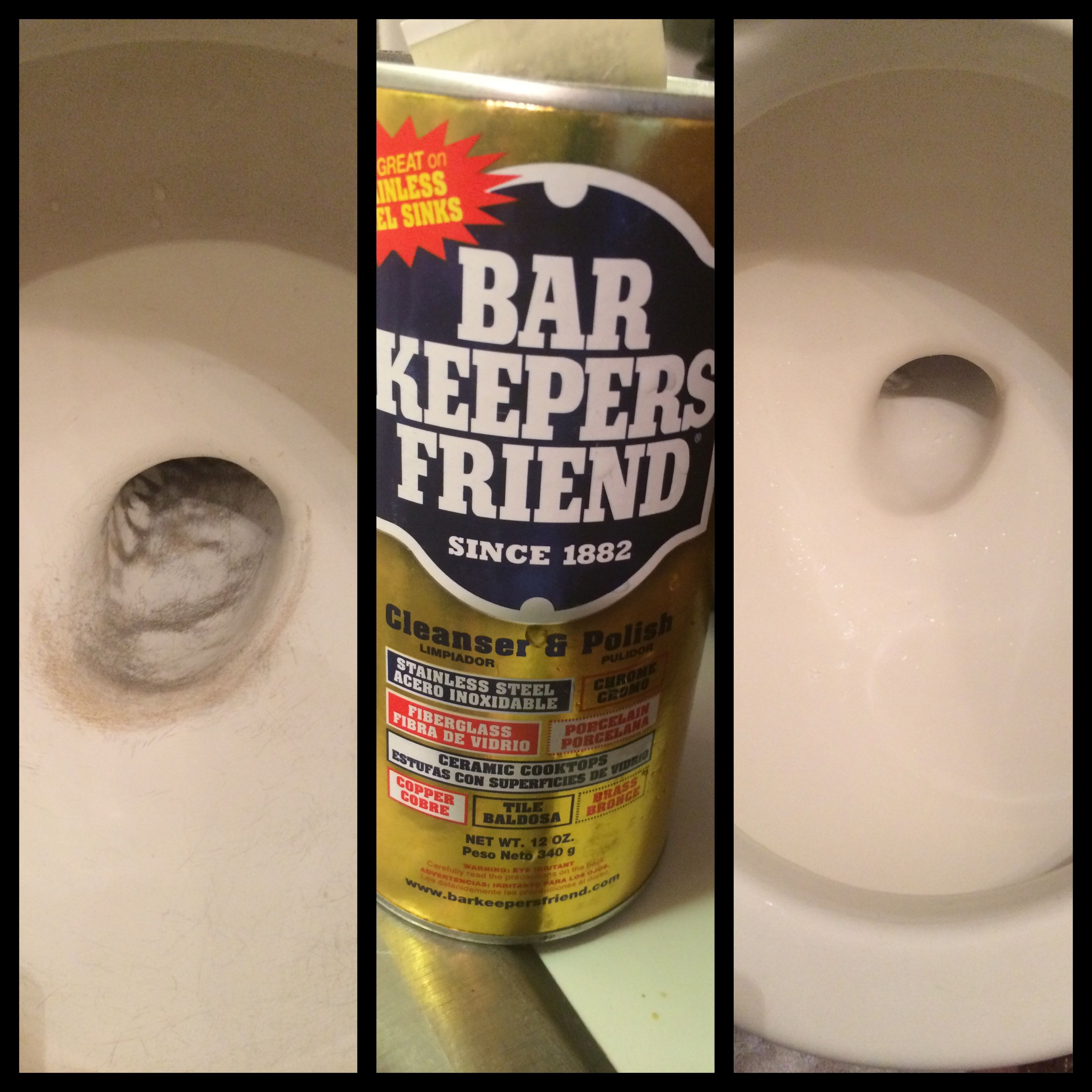 remove scratches in toilet from the ill advised snake with bar keepers friend p s it 39 s better. Black Bedroom Furniture Sets. Home Design Ideas
