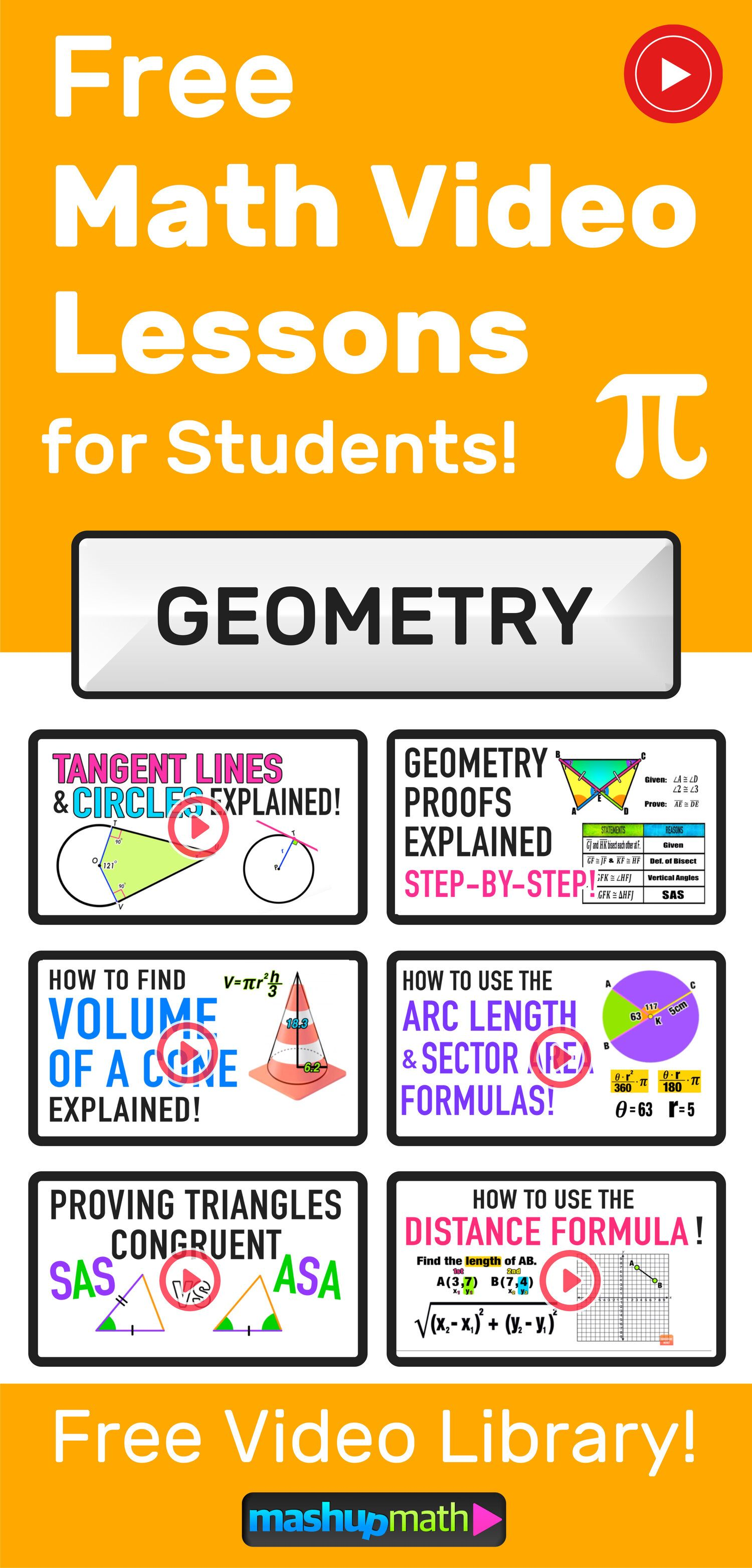 Geometry Videos Mashup Math In