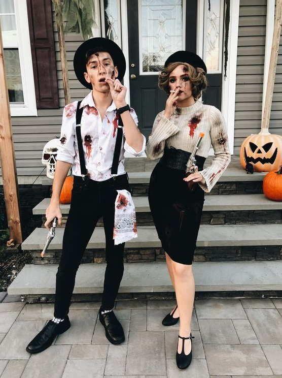 Costumi Halloween Idee.30 Trendy Halloween Costumes For Couples This Year Costumi Di Halloween Donne Costumi Di Coppia Idee Per Costumi