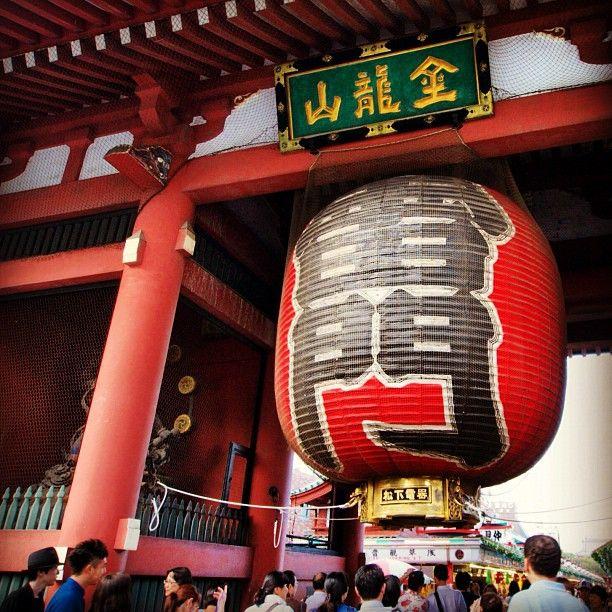 浅草寺 雷門 (Kaminarimon Gate) : 東京, 東京都