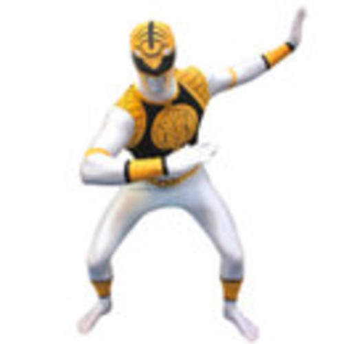 #Morphsuit adults' power rangers white m  ad Euro 47.15 in #Morphuits #Entertainment merchandise