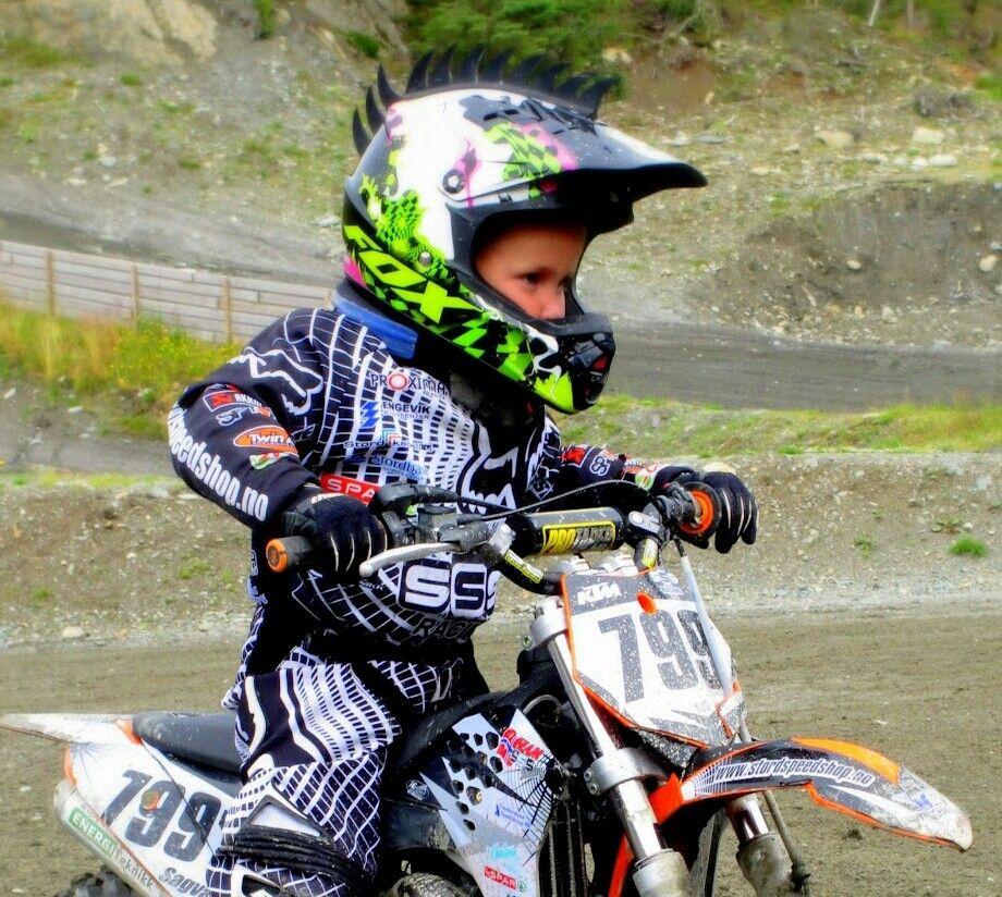 4 Yr Old Kid Motocross Ktm Norway Fox Dirtbike Dirt Bikes For