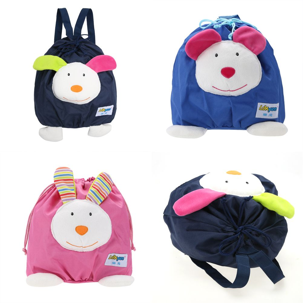4d15594319a8 Buy Online Cute Mini Schoolbag Toy Toddler Baby Kids Mini Cartoon Backpack  Portable Cloth Schoolbag Shoulder