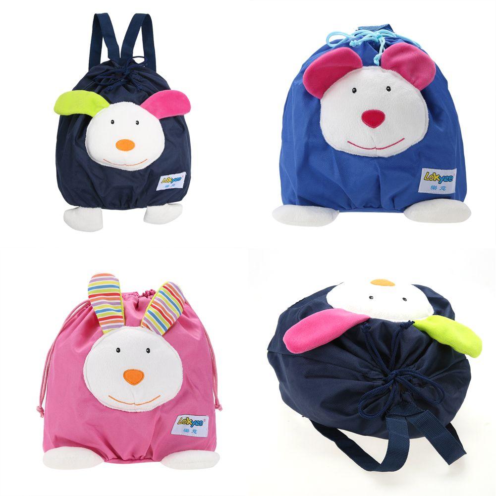 4d15594319a8 Buy Online Cute Mini Schoolbag Toy Toddler Baby Kids Mini Cartoon Backpack  Portable Cloth Schoolbag Shoulder