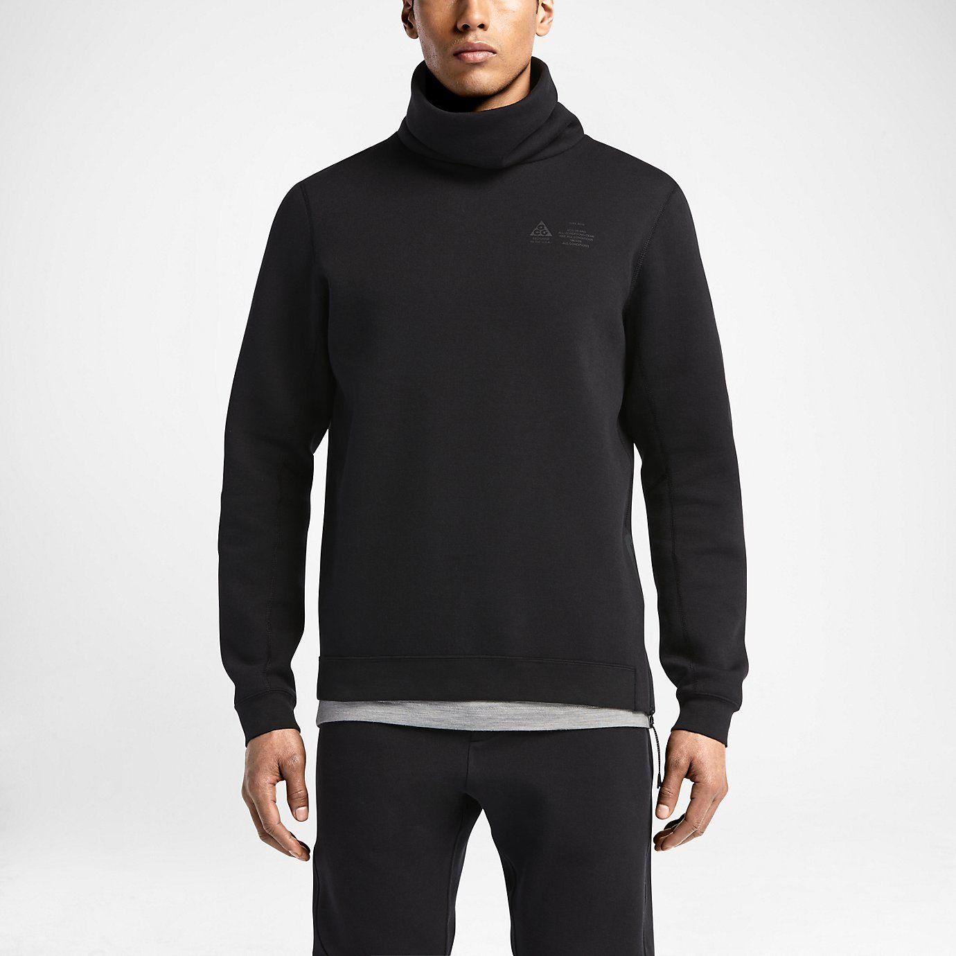 db11c530b NikeLab ACG Tech Fleece Funnel Pullover Men's Sweatshirt. Nike Store ...