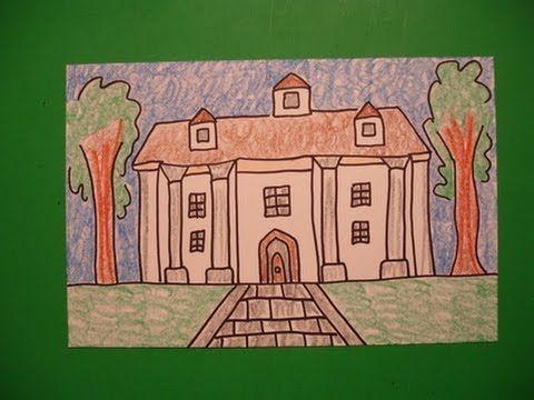 Lets Draw a Southern Colony Plantation NoArtPhobia4Teachers