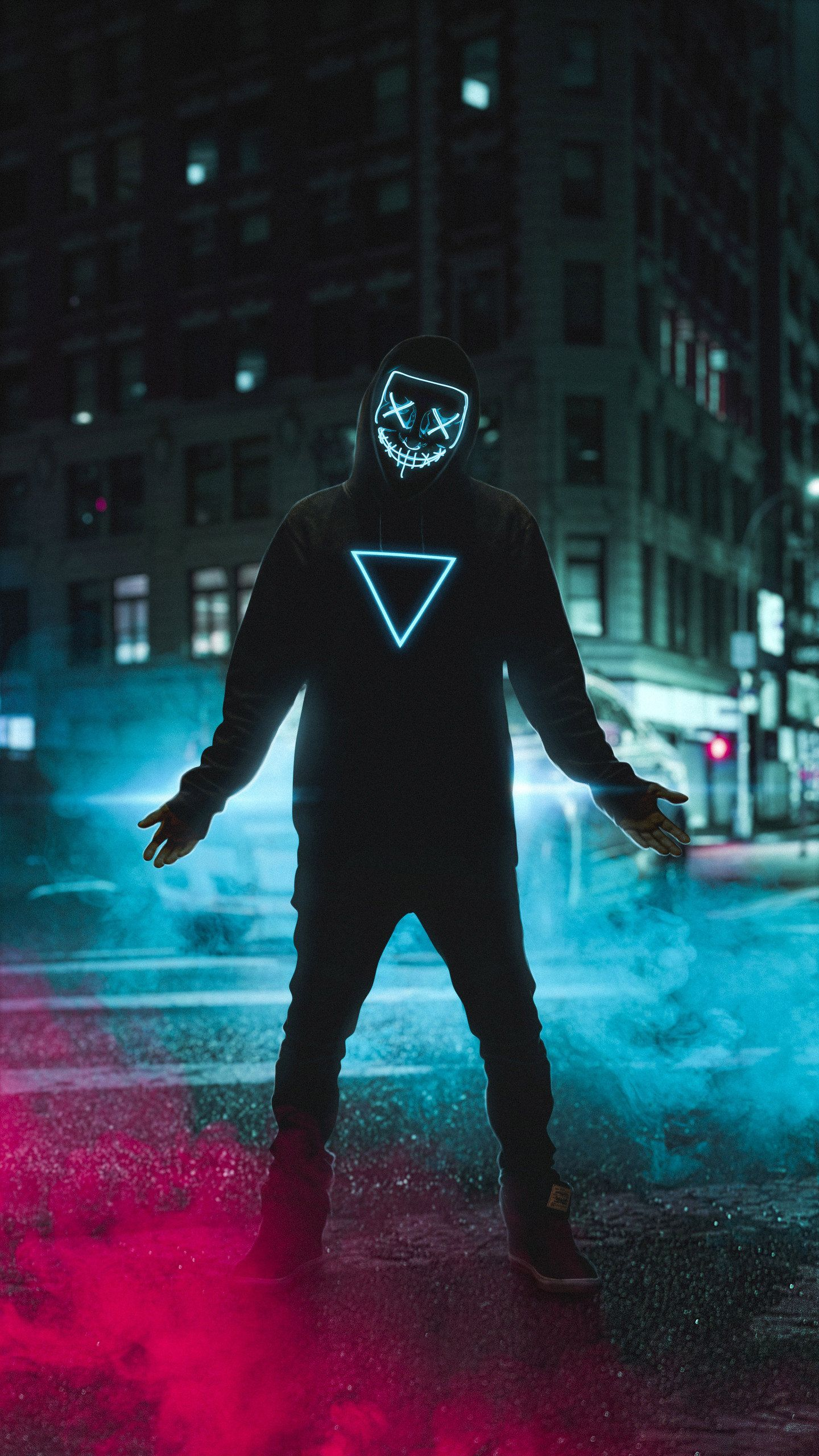 Neon Mask Boy 4k Hd Photography Wallpapers Photos And Pictures Em 2020 Fotografia Do Fumaca Papel De Parede Hd Papeis De Parede Hd Celular