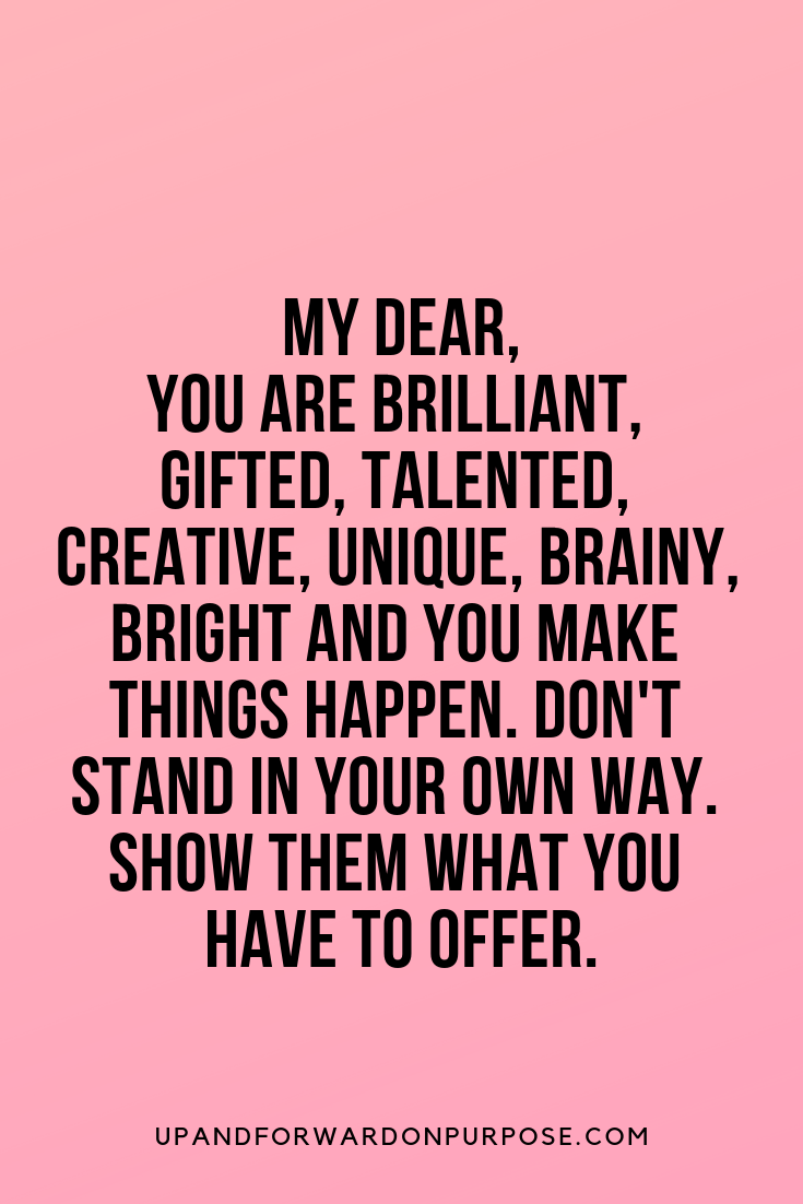 Motivational Quote Use Your Gifts And Talents Empowering Quotes Quotes Motivational Quotes
