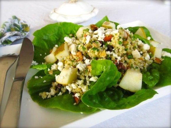 Millet Energy Salad with Nuts and Seeds