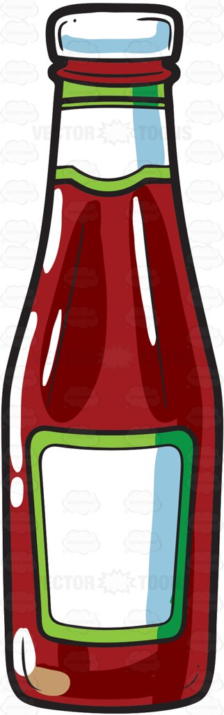 a bottle of tomato ketchup pinterest bottle cartoon and rh pinterest co uk ketchup clipart free ketchup clipart png