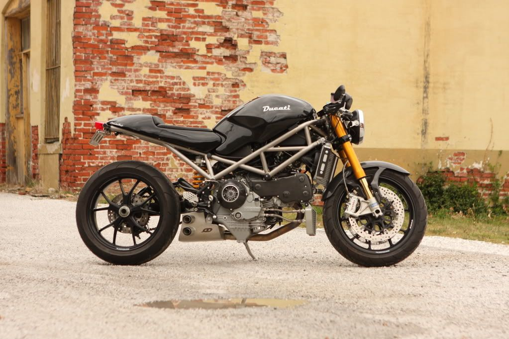 Titanium Motorcycle Frame Ducati Monster Ducati Monster Custom Ducati Monster 600