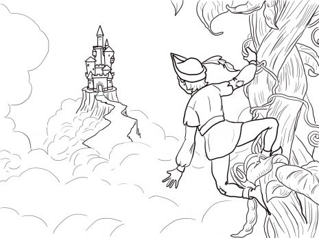 Jack And The Beanstalk Castle Coloring Page Super Coloring Castle Coloring Page Super Coloring Pages Jack And The Beanstalk