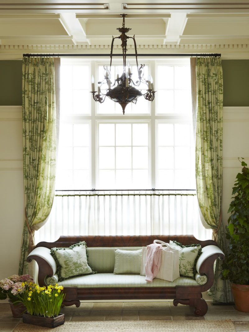 Home decor window  an englishinspired east hampton home by jack fhillips  english