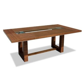 Pablo Dining Table dark oak wenge or walnut with extension leaves