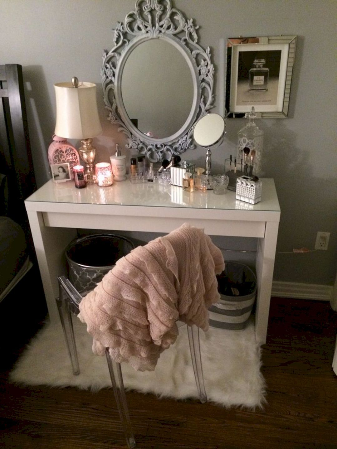 Nice 30+ Amazing DIY Makeup Vanity Design Ideas That Can Inspire You  Https://freshouz.com/30 Amazing Diy Makeup Vanity Design Ideas Can Inspire/  #home ...