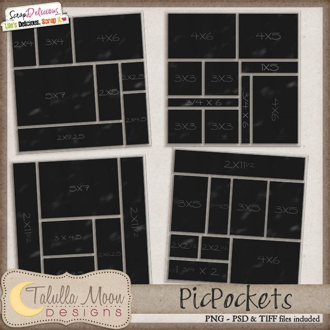 PicPockets, Set 1 | By Tallula Moon Designs