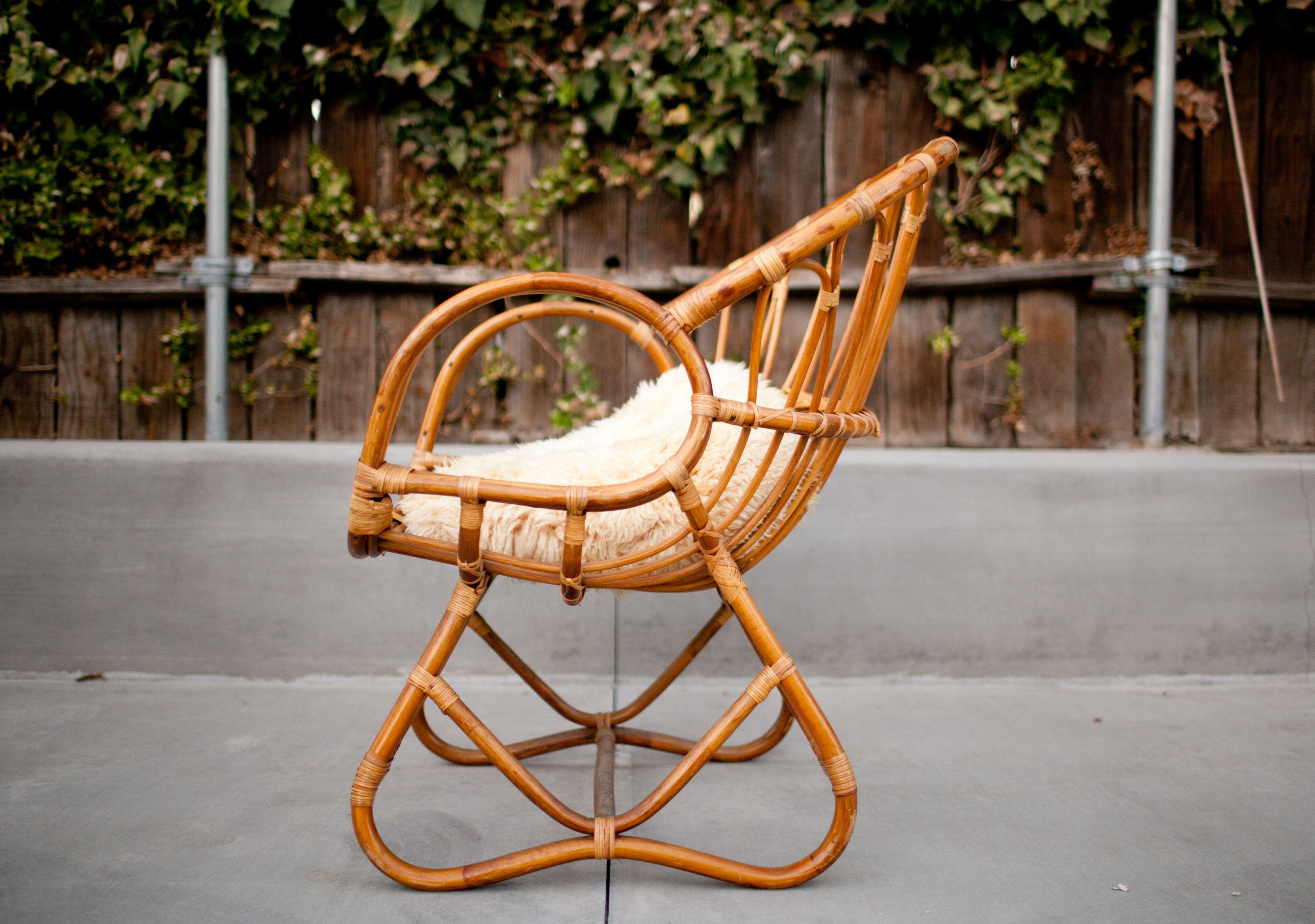 bamboo rattan chairs. 1960\u0027s Rohe Noordwolde Cane Chair - Bamboo Rattan Arm Chairs
