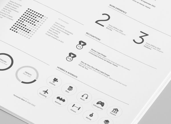 FREE Resume Template by Fernando Báez - MightyDeals Random