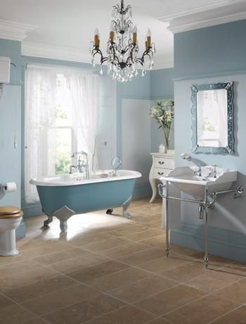 Ive Got The Monday Blues With 10 Dazzling Blue Bathrooms Bathroom