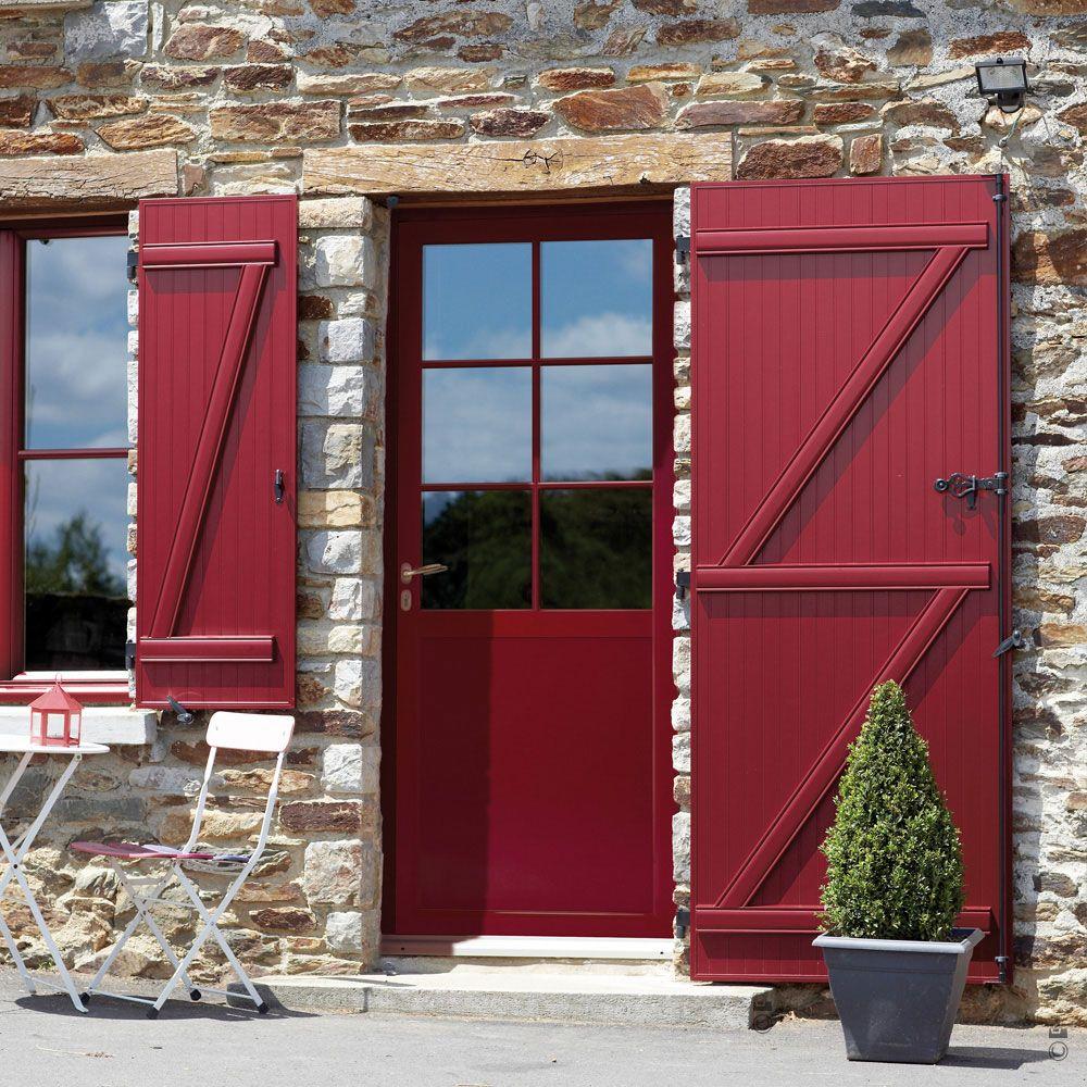 Afficher l 39 image d 39 origine bretagne porte fenetre entr e et portes - Porte metallique isolante ...