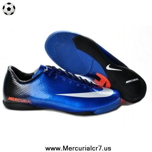 cf9e88e2023e Blue Black White Nike Mercurial Vapor IX IC CR9 Victory IV IC Indoor Boots